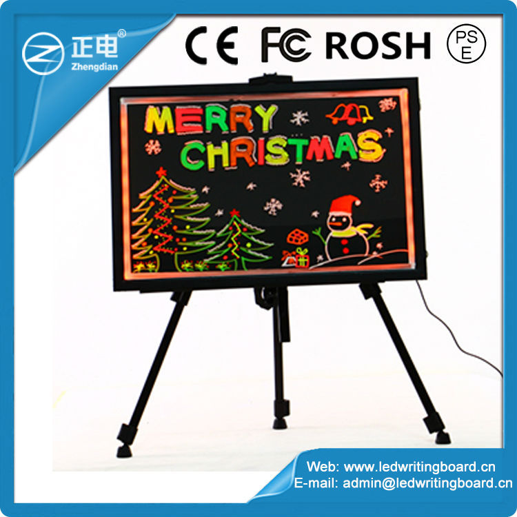 Led Painting Writing Panel Tablet With Fluorescent Marker Pen New Style Led Lighting Menu Board