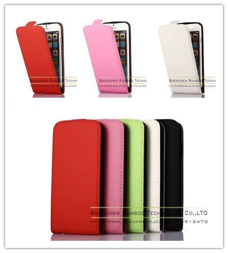 PU Leather Vertical Flip Skin Case Cover Magnetic Closure for Samsung Galaxy S3 Mini i8190