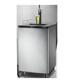128L 170L Automatic Black And Stainless Steel Refrigerator Draft Tower Kegerator Fridge Beer Cooler Dispenser