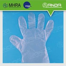 AD005 household products HDPE transparent cheap disposable gloves
