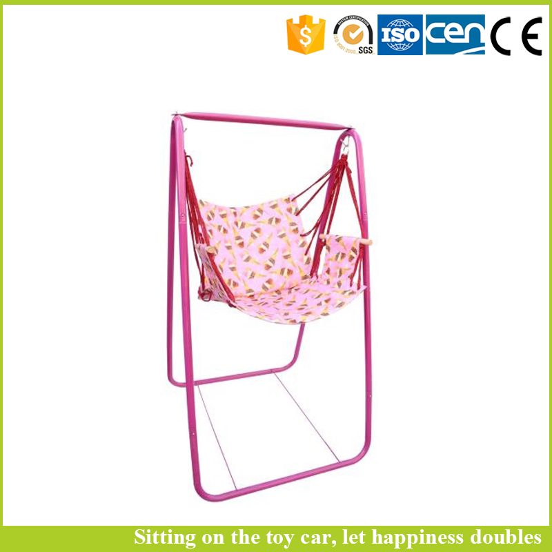 Good quality children indoor swing bubble bags packing baby patio swing can fold