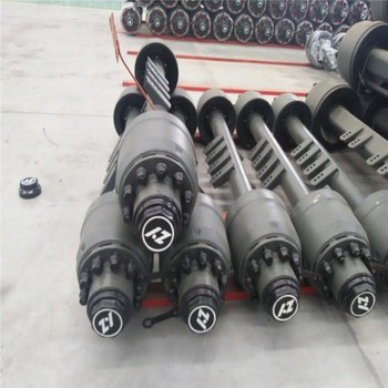 13 Ton American Type Round Beam Trailer Axles from ZY factory