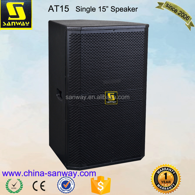 "AT15 Professional 15"" Sound System Disco Speaker"