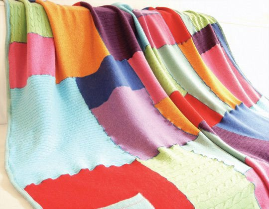 Recycled Cashmere Blankets