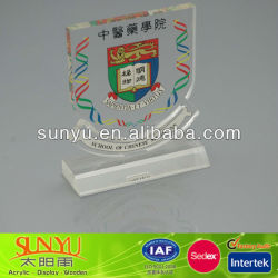 plastic acrylic awards medals trophys for school