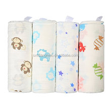 Muti-Use bamboo printed pattern wholesale muslin baby swaddle blanket,baby blanket