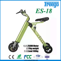 NEW 2016 City Express Super electric folding bike with lithium battery 500W