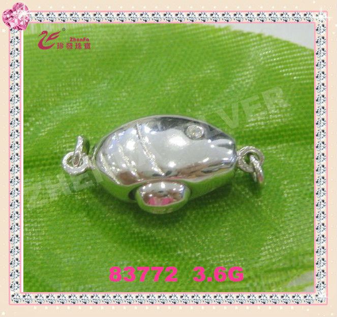 fashion accessory 925 sterling silver latest designs bracelet clasps