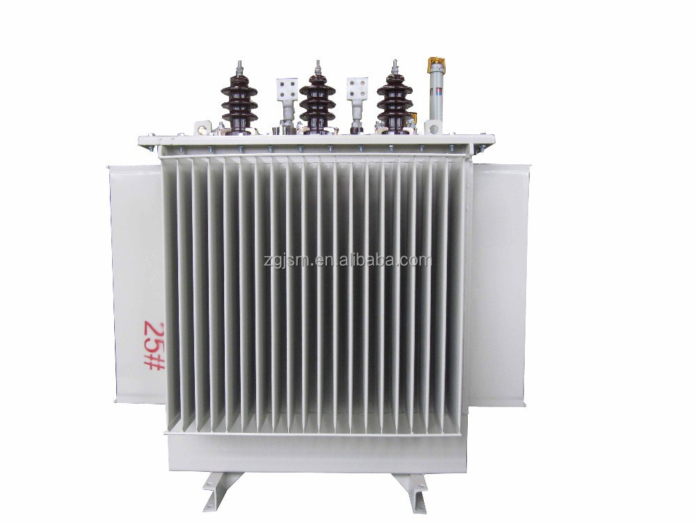 100KVA Oil Type Hermetically Sealed Transformer Three phase Transformer Manufacturer