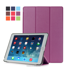 IFC008 Origin Magnet Case for iPad Air smart coverleather case cover for ipad Air 3 ,can print logo