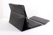 Ultra-thin Bluetooth Keyboard Stand Leather Case for iPad 1 / 2 / New iPad