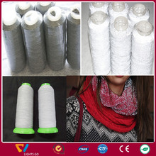 high light reflective embroidery sewing reflex thread yarn for knitting