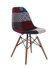 Popular Patchwork Fabric hotel using upholstered chair