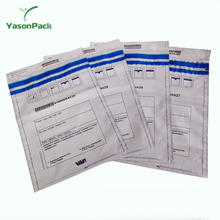 Yason supply Special offer tamper evident security bags STEB tamper proof bags