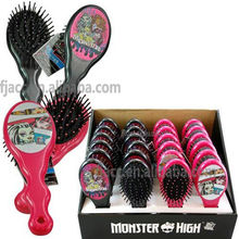 Hot Curling Monster High Style Hair Brush Sets of Round Massage Comb by Yiwu Audit Passed Manufacturer
