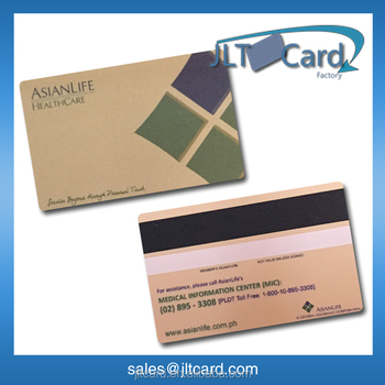powerful RFID PVC Cards in Access Control smart card with black magnetic stripe