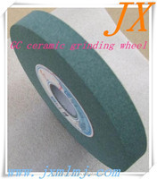 Green silicon carbide ceramic bonded grinding stone for carbon steel polishing