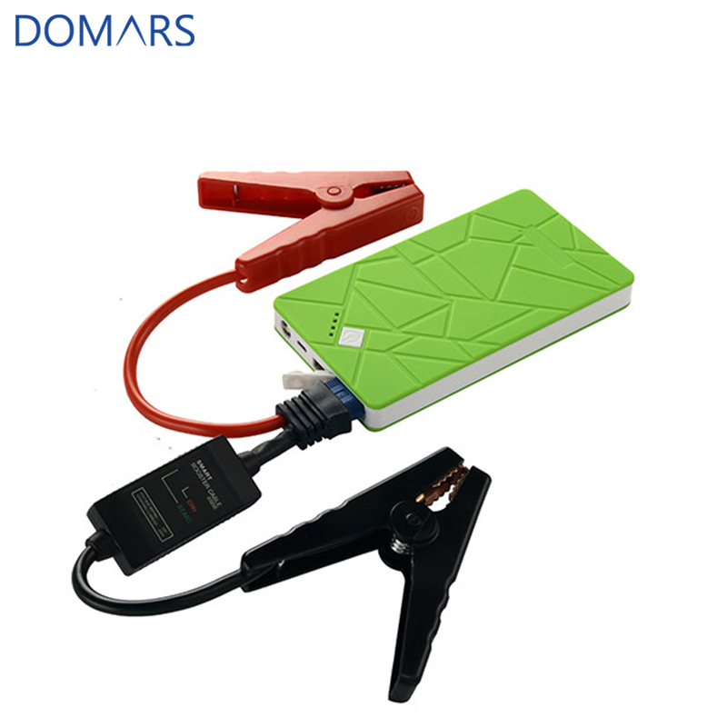 Smart Car Charger Power Bank 6900mAh 12V Car Jump Starter with 3 in 1 USB Cable