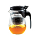 VonShef Modern Stainless Steel 0.5-Liter Glass Infusion Tea Pot Loose Tea Leaf Coffee Infuser