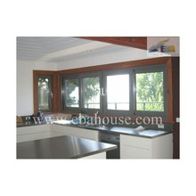 Aluminum frame double glazing sliding kitchen window