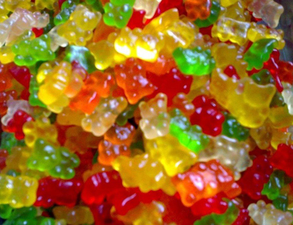 GMP and Halal certificate DHA gummy bears