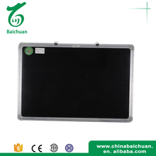 High Quality Mdf Magnetic Memo Black Board For Home Decoration