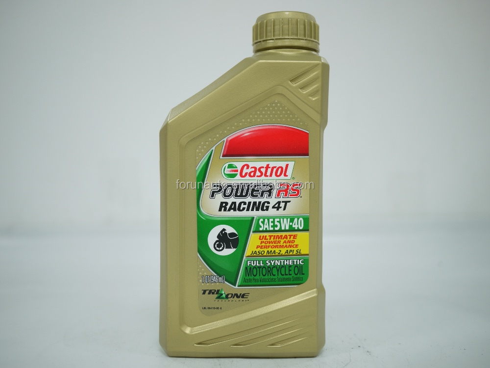 Castrol 4T RS 5W40 POWER RACING Synthetic Engine Oil Motorcycle