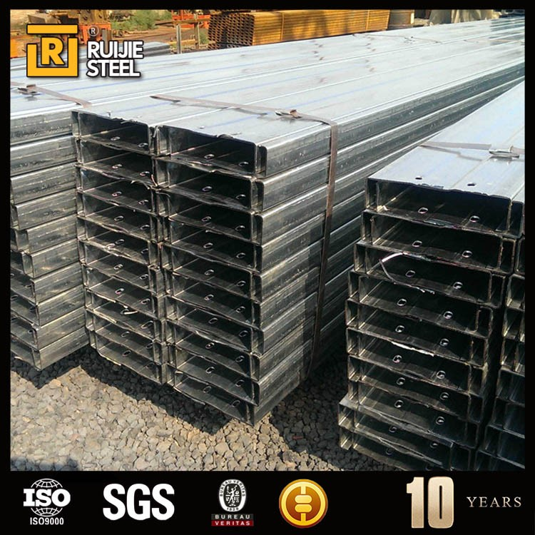 galvanized steel c purlin , lip channel steel , c section steel with competitive price
