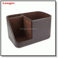 2016 handmade environment friendly leather pen holder pen case