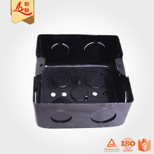 Powder Coating Electrica Switch Metal Junction Box For Wiring