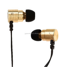Tangle Free Flat Cord Earphones Professional Stereo Sound Proof Monitor headphones