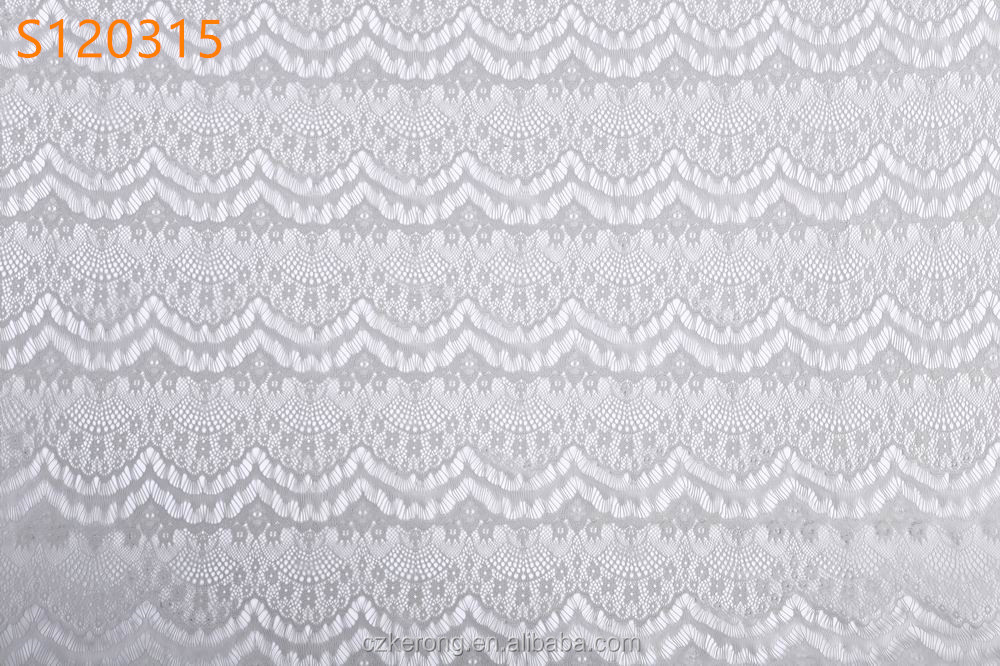 Factory high quality light gray wedding african lace fabric S120315