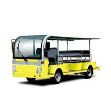 WDV6081Q 8 seaters gasoline petrol diesel fuel cover waterproof mini bus sightseeing tourist car open top sightseeing bus