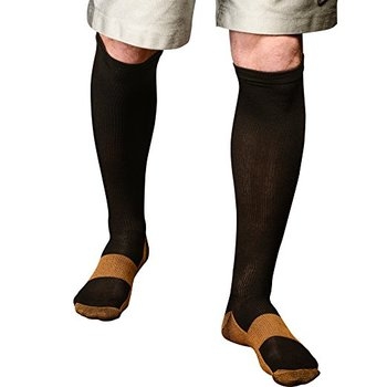 New Custom Copper Compression Socks with Nurse Medical for Men Women