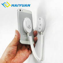 Retail store security alarm display stand wall mount cell phone holder for iphone