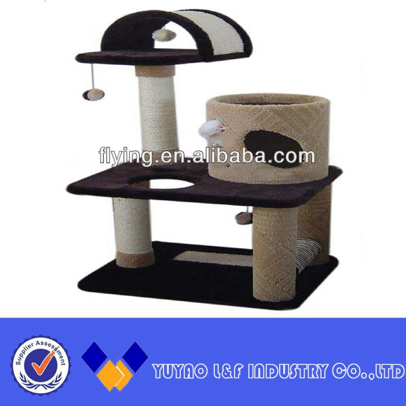 Red wine or other you need wood cat tree suitable for cats of all ages