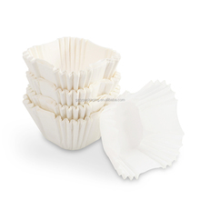 Food Grade Cupcake Paper Liners Small Toast Tray With Puffs