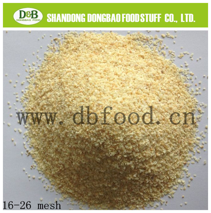 New Crop Dehydrated Dried Garlic Granule in China