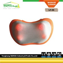 Electric Car Head Shoulder Back Kneading Shiatsu Massage pillow With CE And ROHS