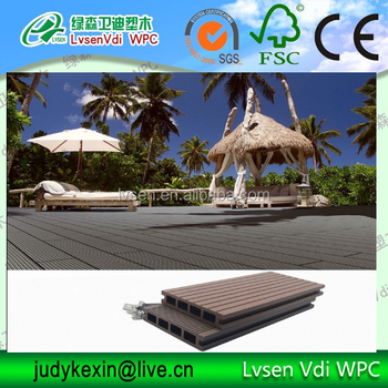 WPC wood- plastic composite wall panel /cladding outdoor