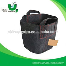 Hydro garden grow bags ,indoor fabric pot,eco-friendly greenhouse fabric plant grow bags
