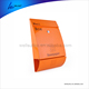Metal Iron orange powder spray painting coating waterproof lockable wall mounted mailbox letterbox postbox newspaper holder