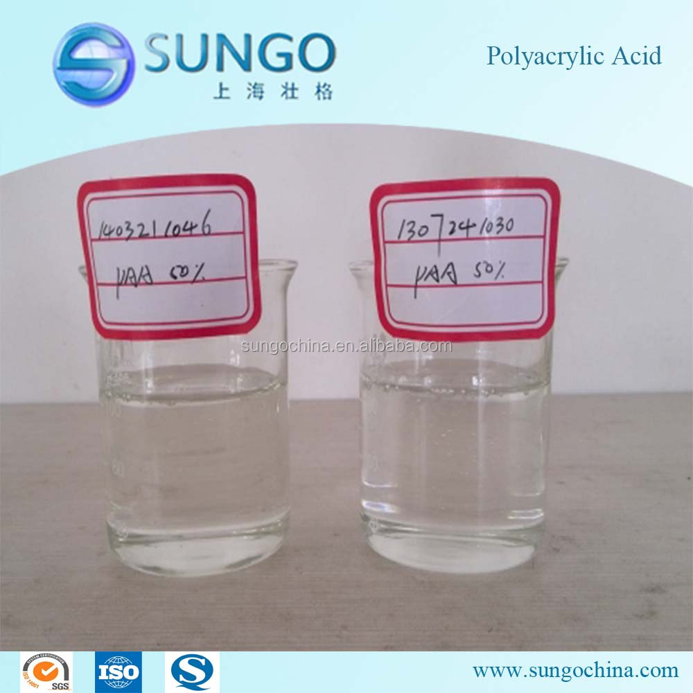 Scale Inhibitor and Dispersant Polyacrylic Acid PAA Solubility