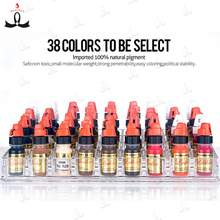 Bigger quanlity supply hot color micro permanent makeup pigment