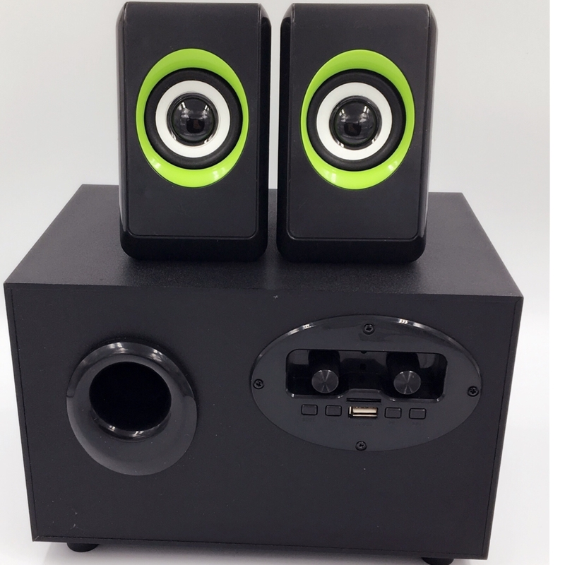 Creative Home Theatre Multimedia Laptop Computer Stereo Subwoofer Speakers with 2.1 Speaker System