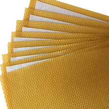 Accept Customized China Bee Wax Factory Yellow/White Organic Beeswax Foundation Sheet