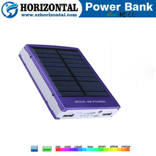 Portable Mini Outdoor Solar Power bank , 2000mah Solar Power Bank