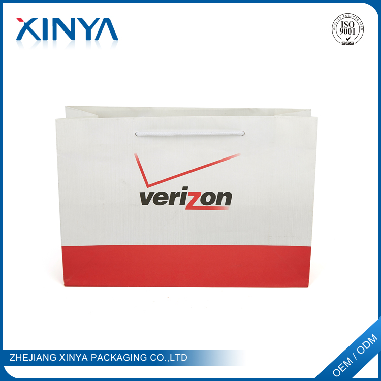 Xinya Alibaba Best Sellers Die Cut Handle Paper Bags With Your Ow Logo