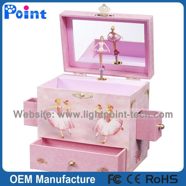High quality best gift,rotating ballerina music box,music box with ballerina