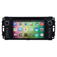 "OEM A9 Quad core Pure Android 5.1.1 HD 800*480 16GB Mirror-Link 6.2"" Car DVD Player GPS Stereo Radio For Jeep Compass 2009-2011"